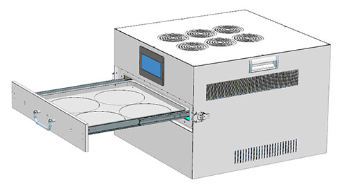 Wafer Chip Semiconductor UV Curing Machine
